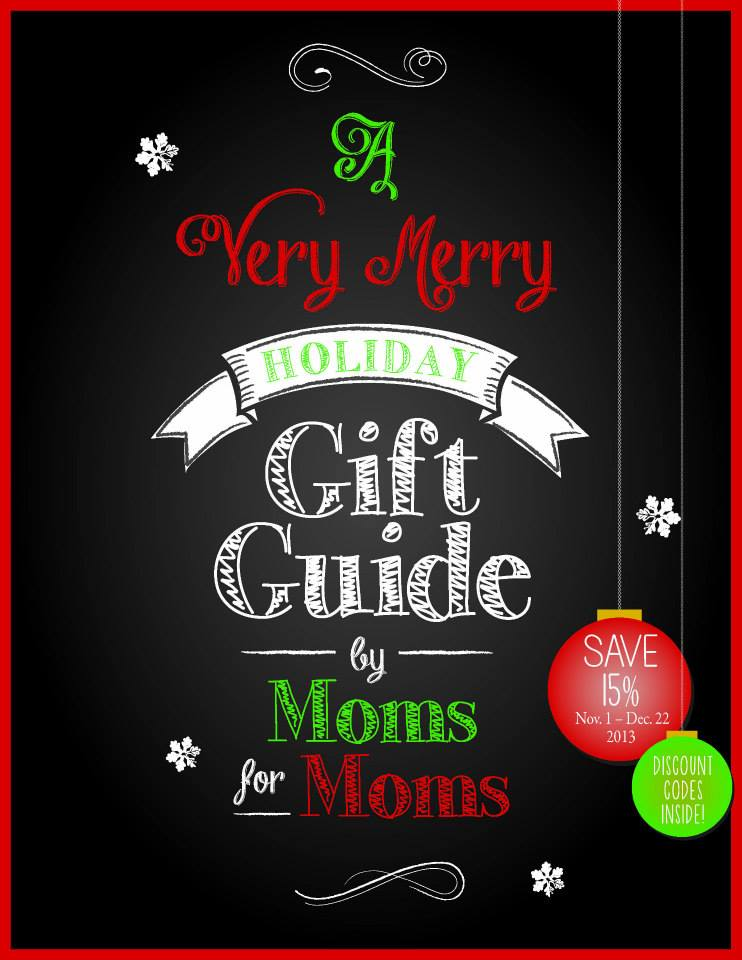 Very Merry Holiday Gift Guide by Moms for Moms