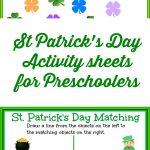St Patrick's Day Activity Sheets