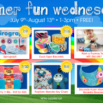 Summer Fun Wednesday at AC Moore