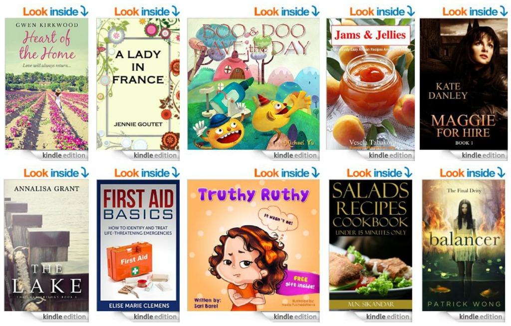 10 Free Kindle Books 8-28-14