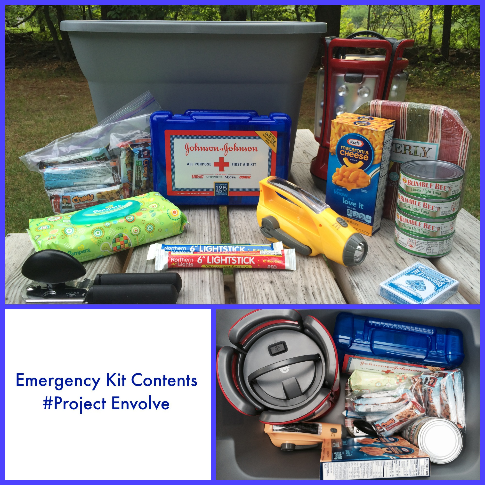 Contents of emergency medical kit
