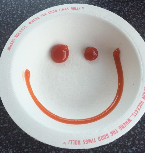 Johnny Rockets ketchup