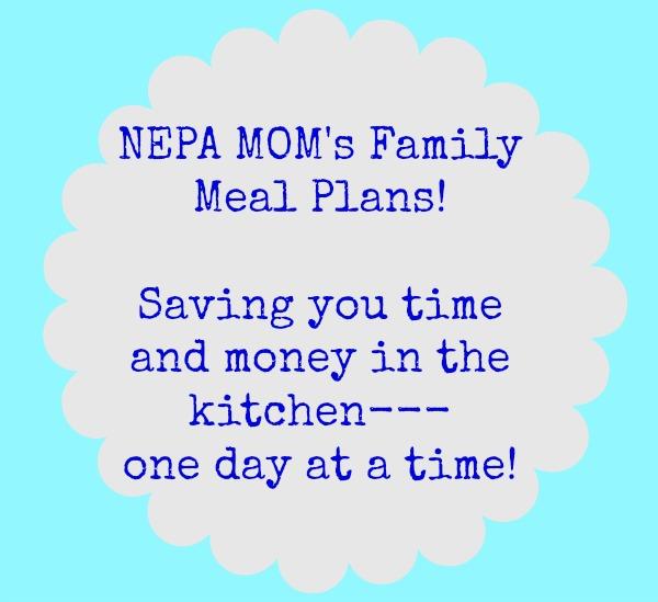 NEPA MOM's Family Meal Plans