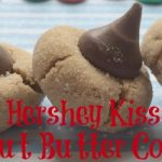 Hershey Kiss Peanut Butter Cookies