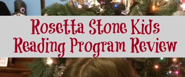 Learning to Read with Rosetta Stone #RSKids #MC #sponsored