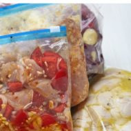 Make Ahead Freezer Meals for Busy Moms--make life SO much easier when you do some freezer cooking!