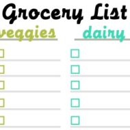 NEPA Mom Grocery List featured image