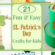 St Patrick's Day Kids Crafts