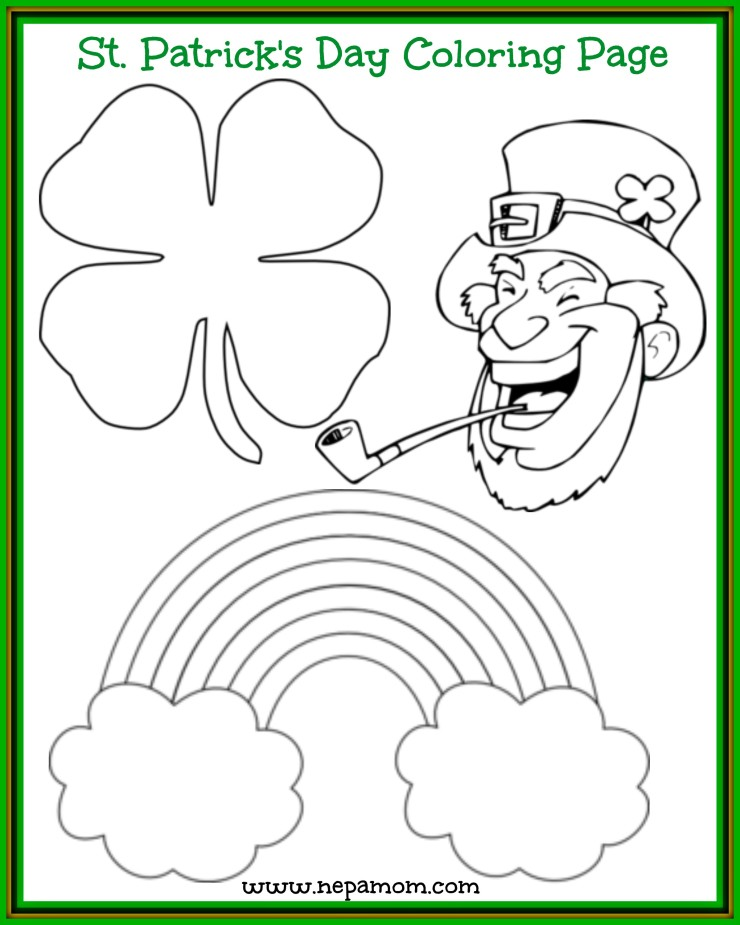 zabbar st patricks day coloring pages - photo #27