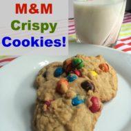 M&M Crispy Cookies #CrispyComeback #CollectiveBias