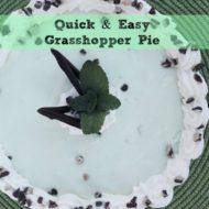 Quick & Easy Grasshopper Pie Horizontal