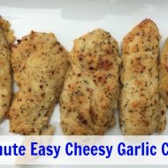 30 Minute Easy Cheesy Garlic Chicken