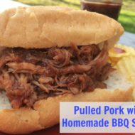 Pulled Pork with Homemade BBQ Sauce
