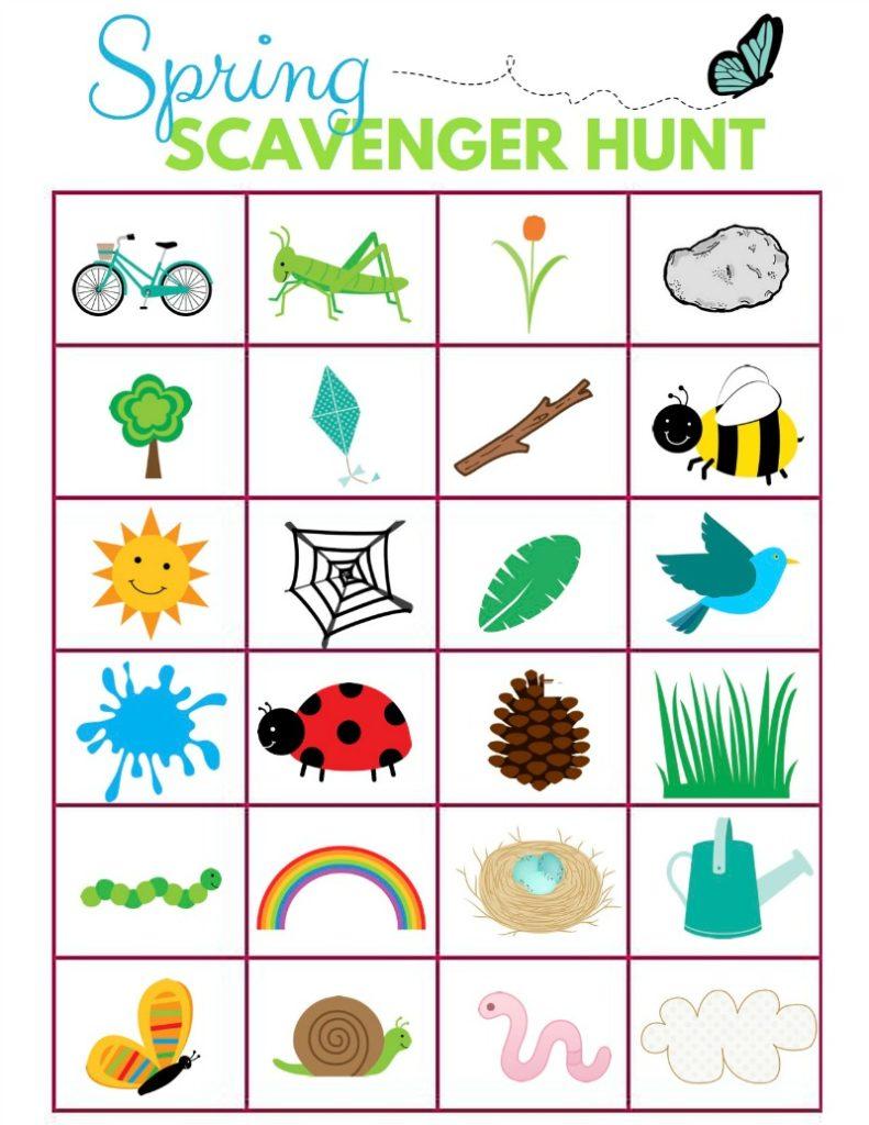 Scavenger Hunt Ideas for Kids-Let's Get Outside! - NEPA Mom