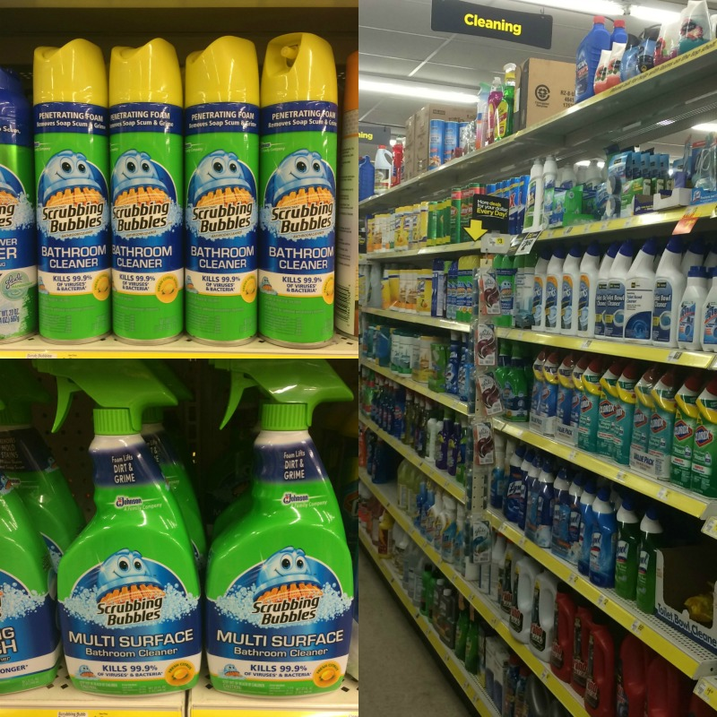 Scrubbing Bubbles at Dollar General #savewithbubbles #ad