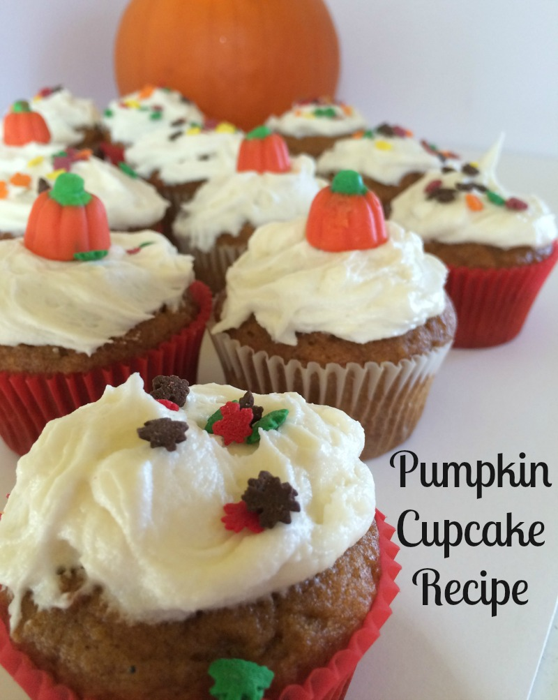Pumpkin Cupcake Recipe