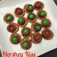 Hershey Kiss Pretzel Treats