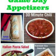 Appetizers: Fast, Easy and Yummy too!