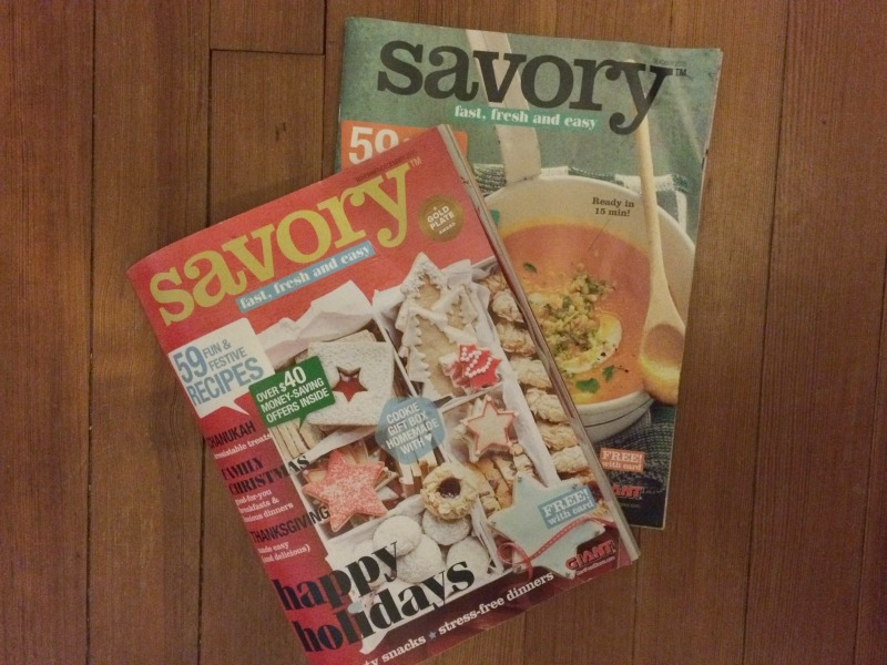 Savory Magazine at GIANT Food Stores #ad