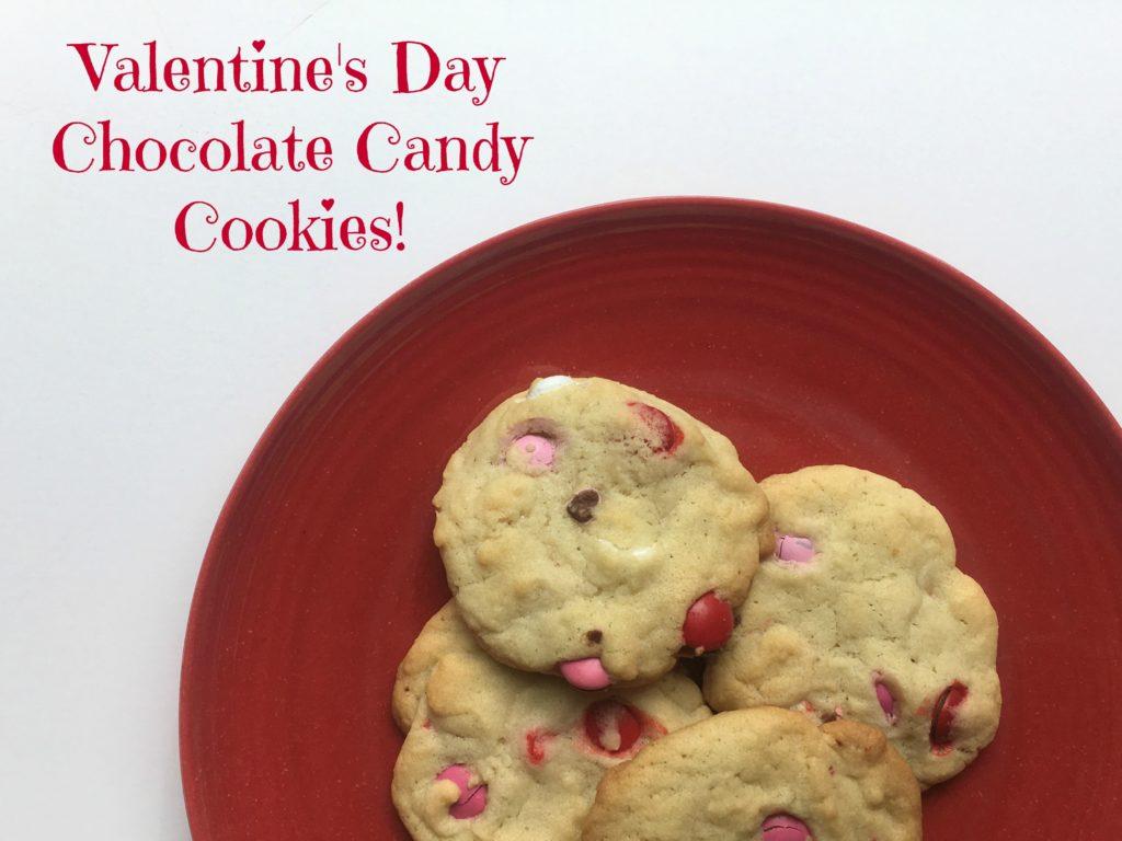 Valentine's Cookies Recipe-Chocolate Candy Cookie - NEPA Mom