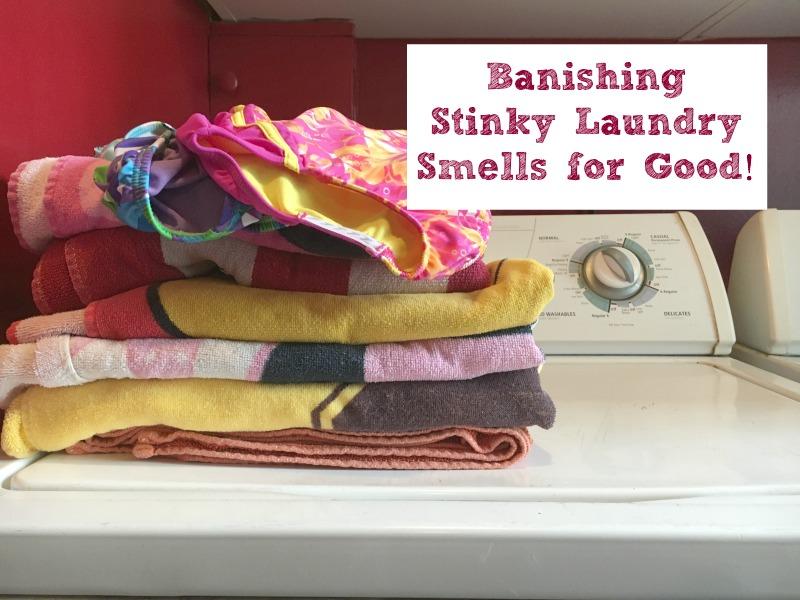 Banishing Stinky Laundry Smells for Good! #Wisk60