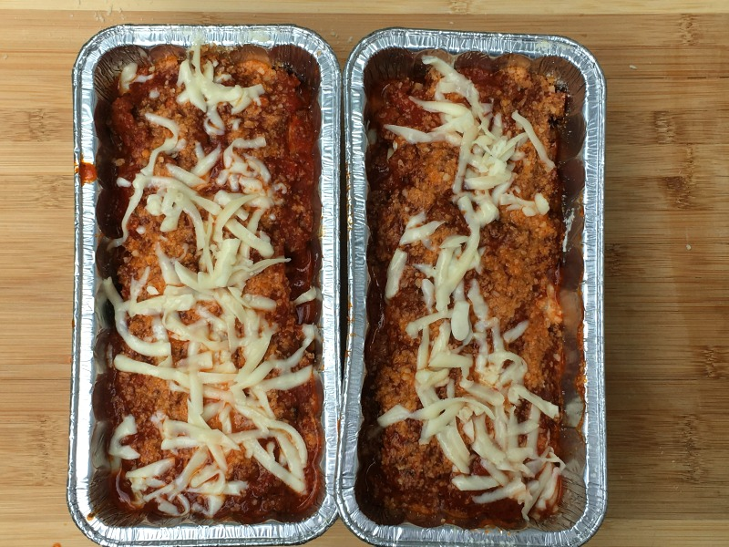Baked Lasagna Roll Ups ready for the Freezer #CampbellSavings
