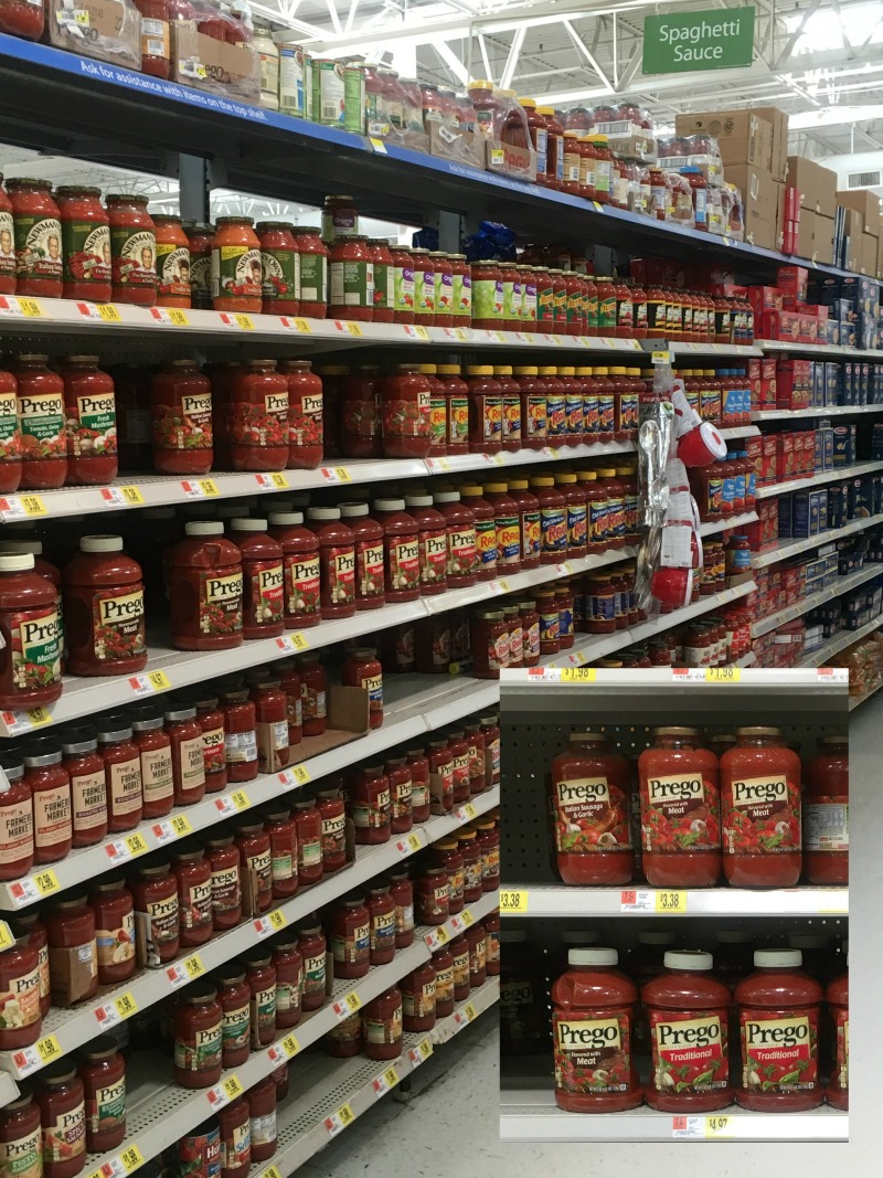 Prego Italian Sauce at Walmart #CampbellSavings