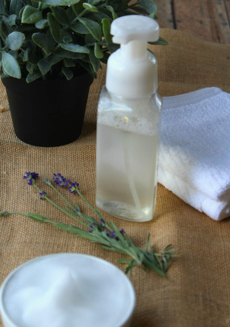 Foaming Hand Soap with Essential Oils--Natural, no harsh chemicals and it smells great!