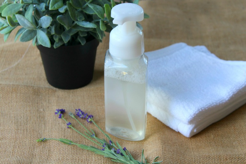 Foaming Hand Soap with Essential Oils--Smells great with no harsh chemicals!