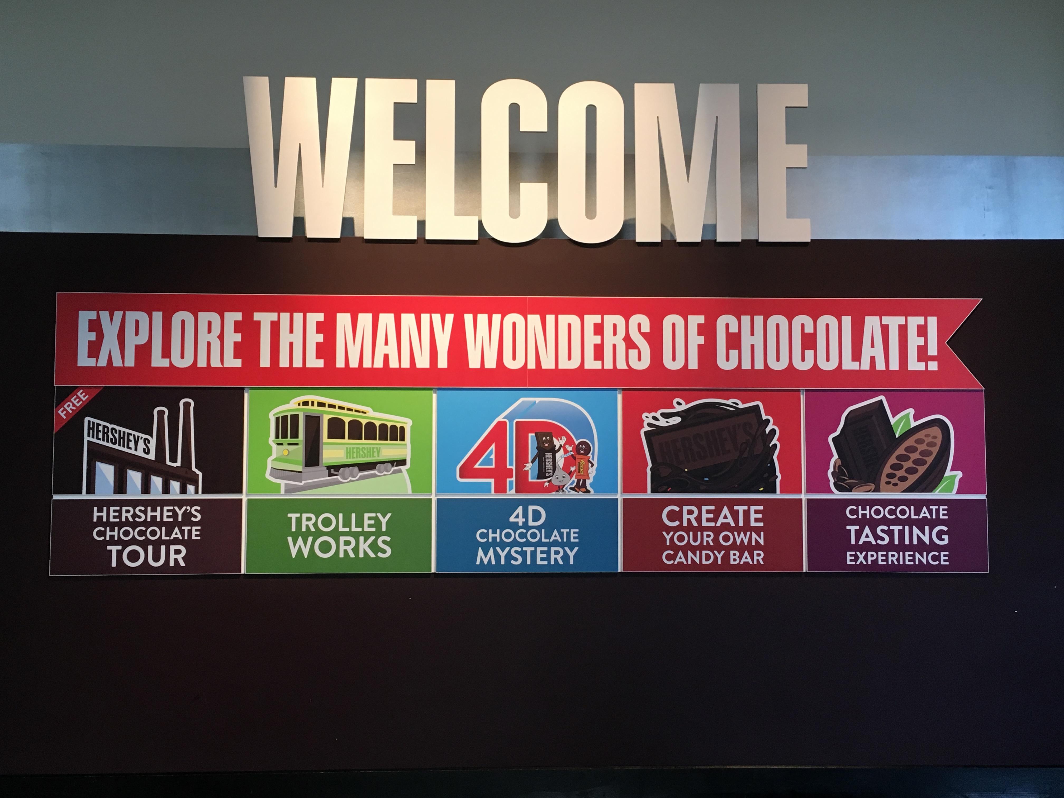 Chocolate World Hershey PA--lots of fun for everyone1