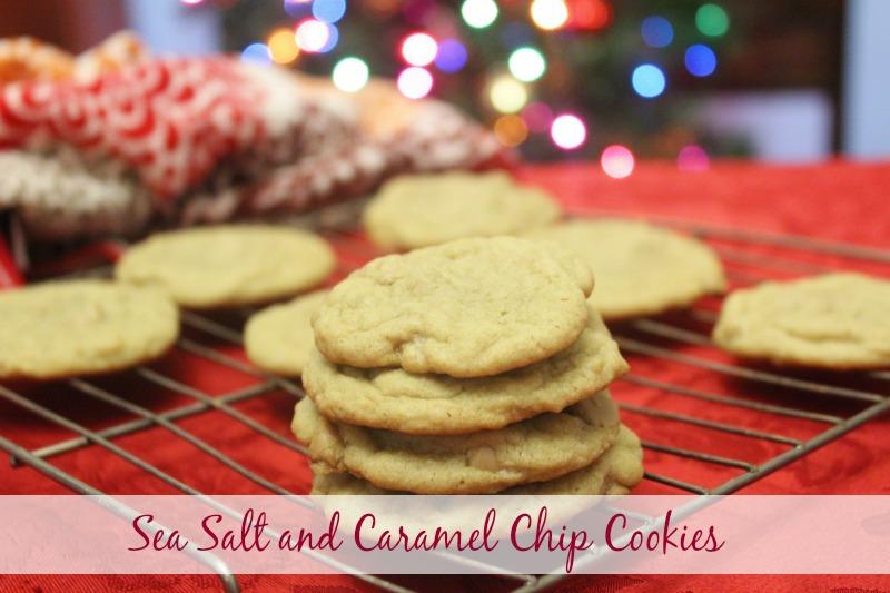 Sea Salt and Caramel Chip Cookies
