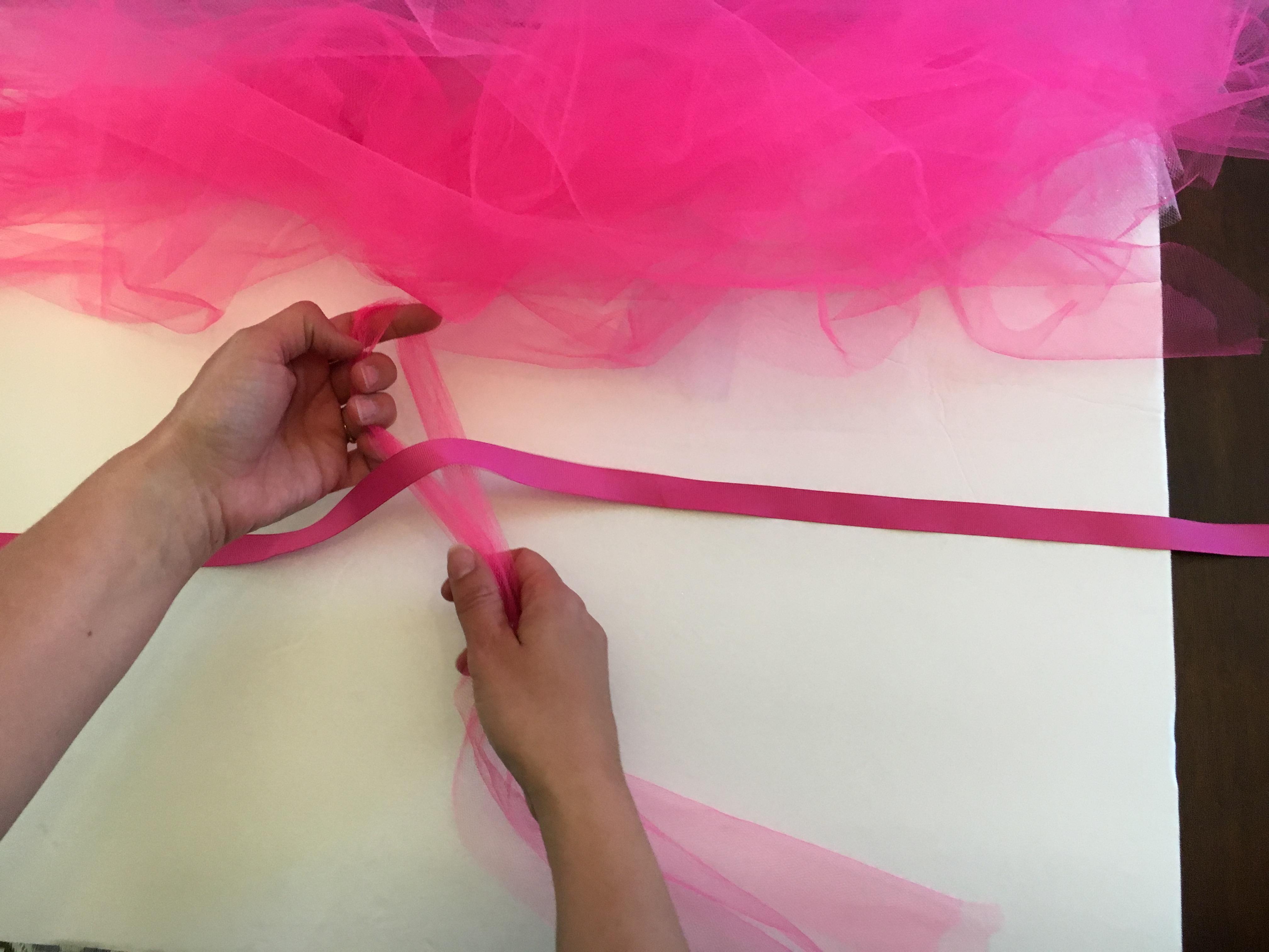 DIY No Sew Tulle Tutu--takes less than 30 minutes start to finish!