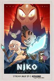 Niko and the Sword of Light is now available for streaming as part of a new Amazon Original Kids Series. Follow Niko as he battles the darkness with his magic sword and the guidance of a determined princess. #ad