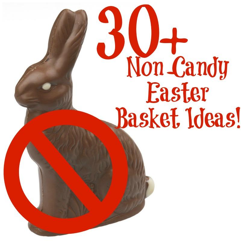 30+Non Candy Easter Basket Ideas