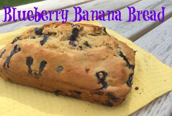 Banana Blueberry Bread is a yummy, sweet treat your whole family will love!