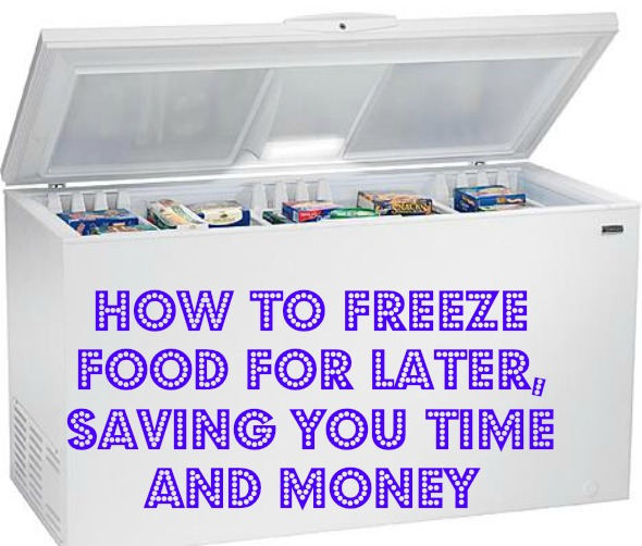 How to Freeze Food for Later
