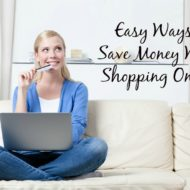 Easy Ways to Save Money while Shopping Online