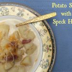Easy Potato Soup Recipe with Speck Ham