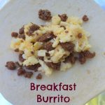 Breakfast Burrito Recipe–using leftovers!