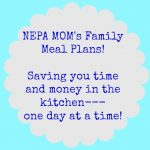 Family Meal Plans 9/7-9/13