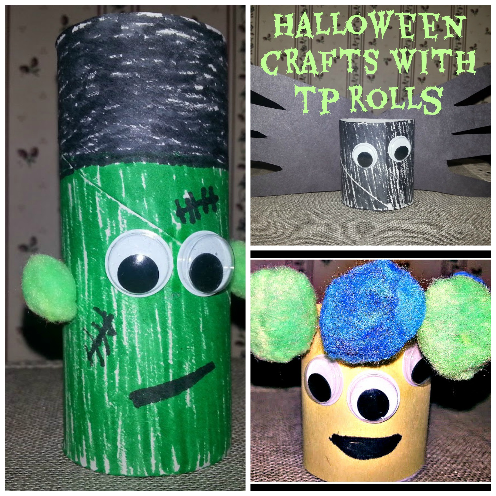 Make Some Scary Crafts This Halloween With Toilet Paper Rolls A Fun Time