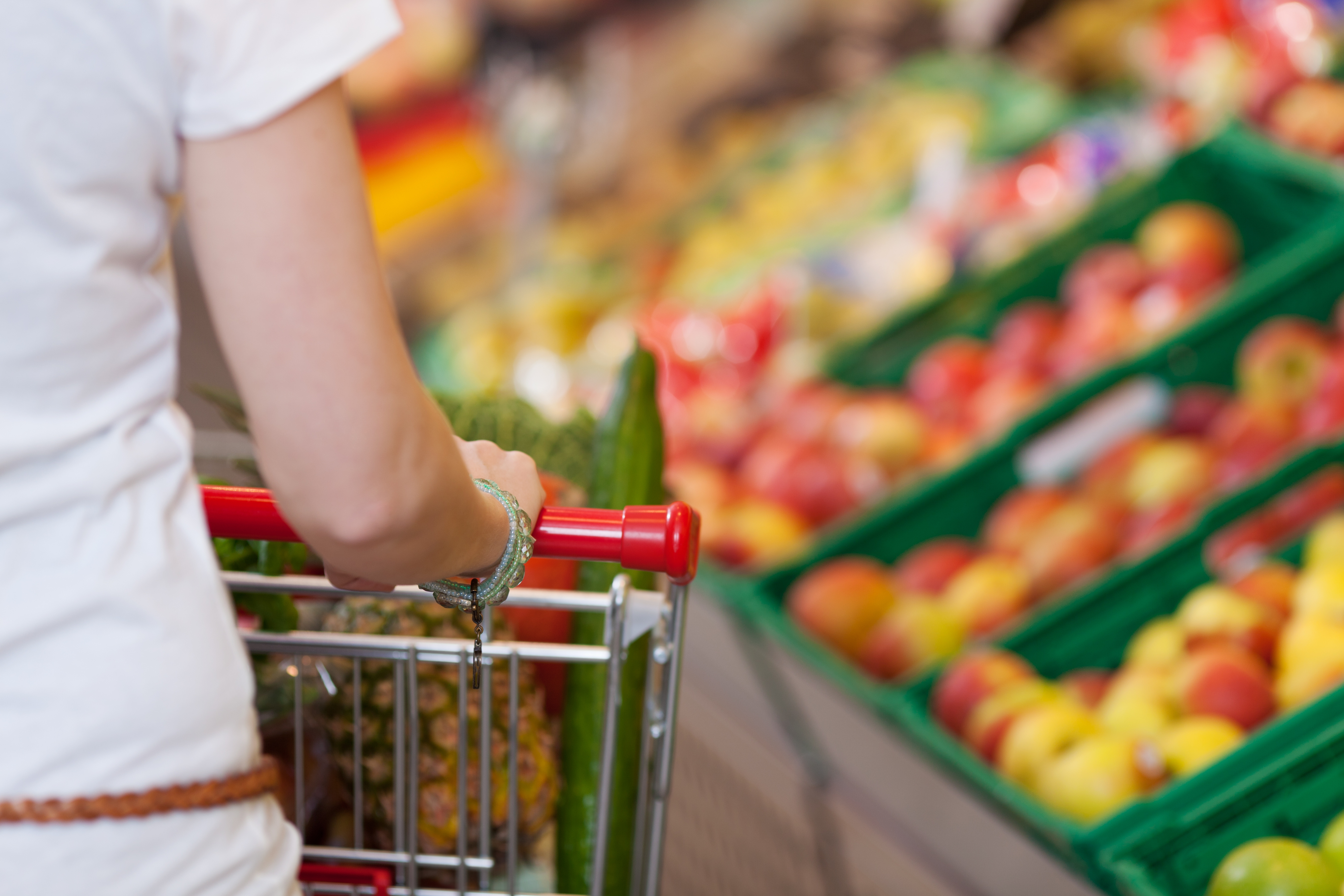 Grocery Shopping List Template--Get organized and save money with this Grocery Shopping List Template!