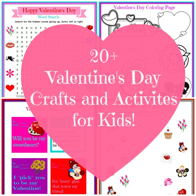 Valentine 39 s day craft ideas nepa mom for Valentine day crafts for kids