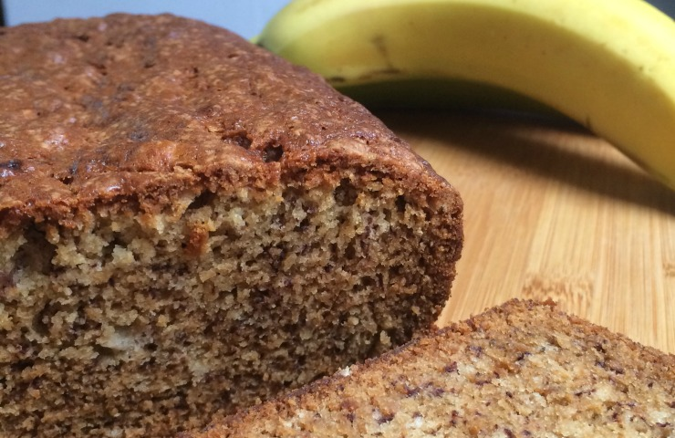 Banana Bread from Scratch with no eggs or nuts!