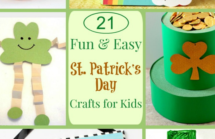 St Patrick's Day Kids Crafts--Cute and colorful crafts for ...