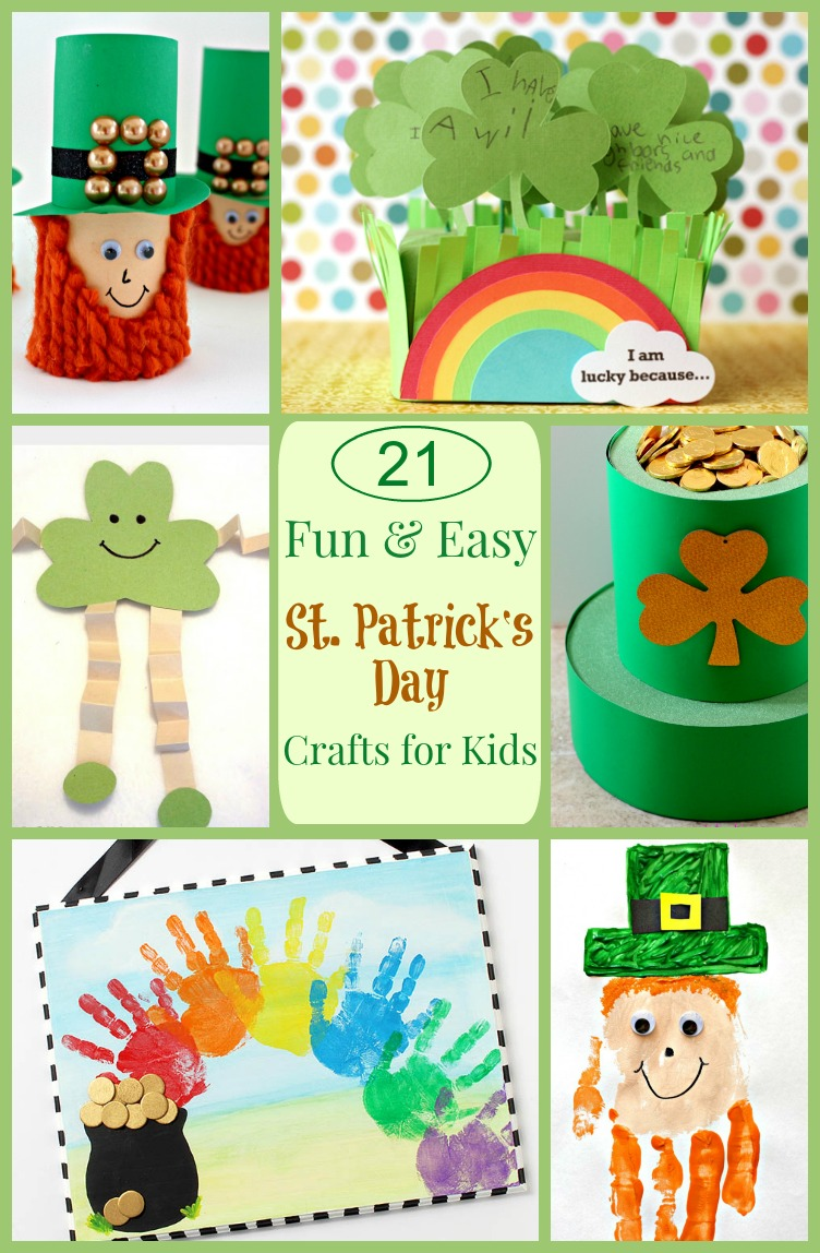 st patrick u0027s day kids crafts cute and colorful crafts for your kids