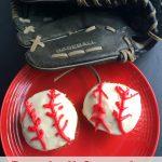 Easy Baseball Cupcakes