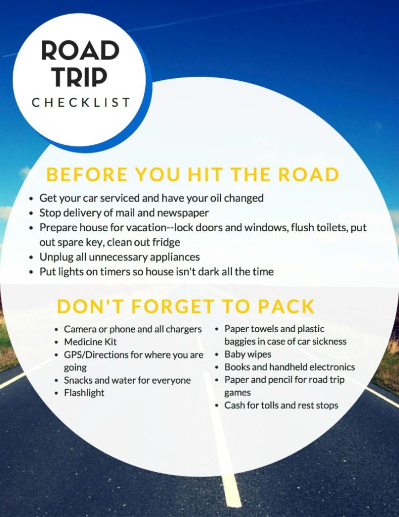 Road Trip Checklist #FueltheLove #ad
