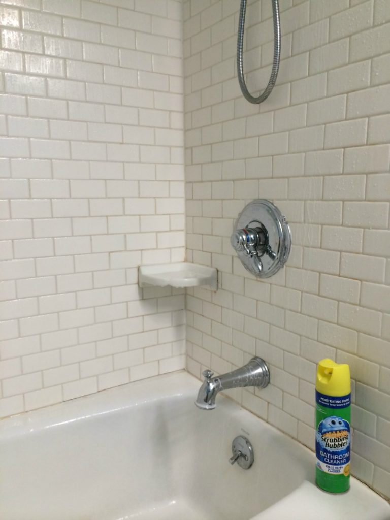 Scrubbing Bubbles Bathroom Cleaner #savewithbubbles #ad