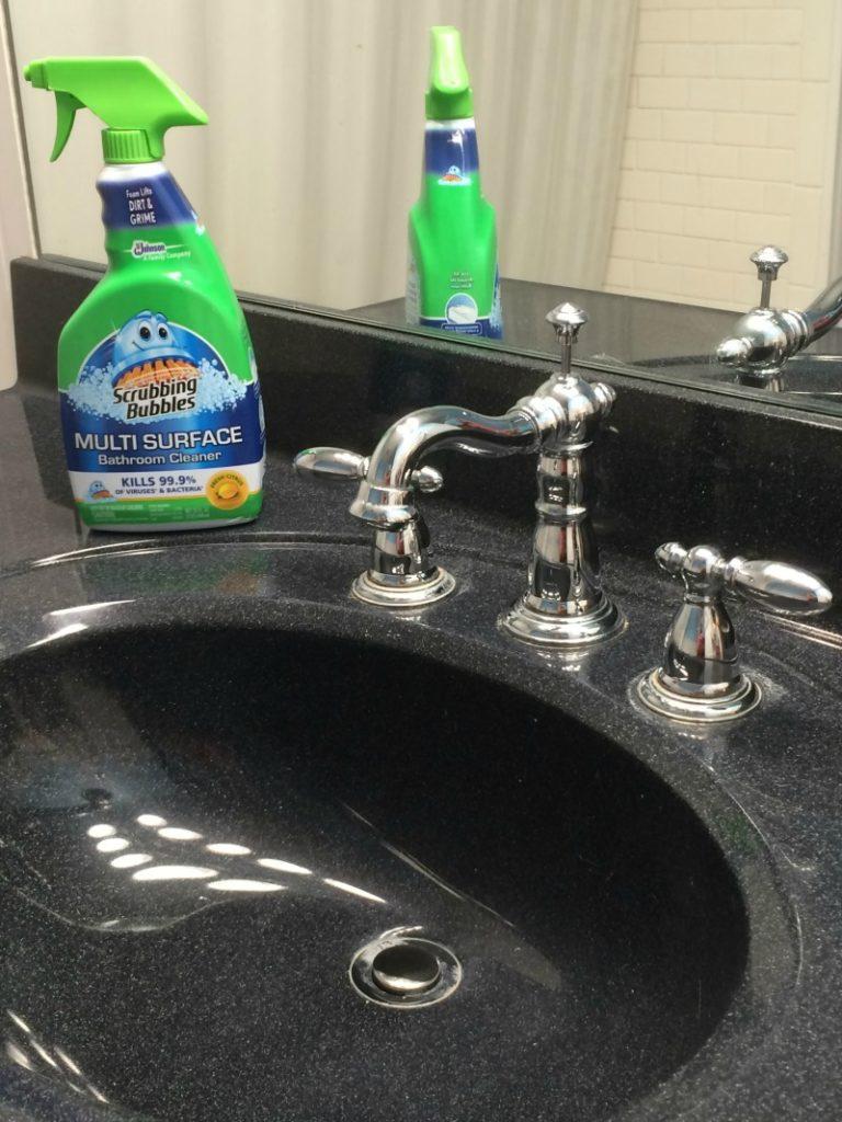 Scrubbing Bubbles keep my bathroom shining! #savewithbubbles #ad